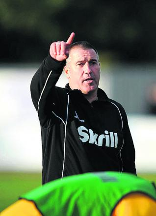 City manager Mike Ford is keen to see his side playing again