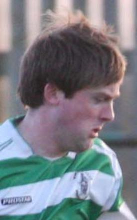 Richie Claydon scored twice for Wantage Town