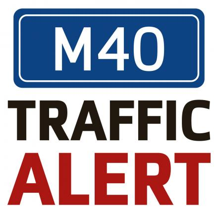 One lane closed on the M40 due to broken down car