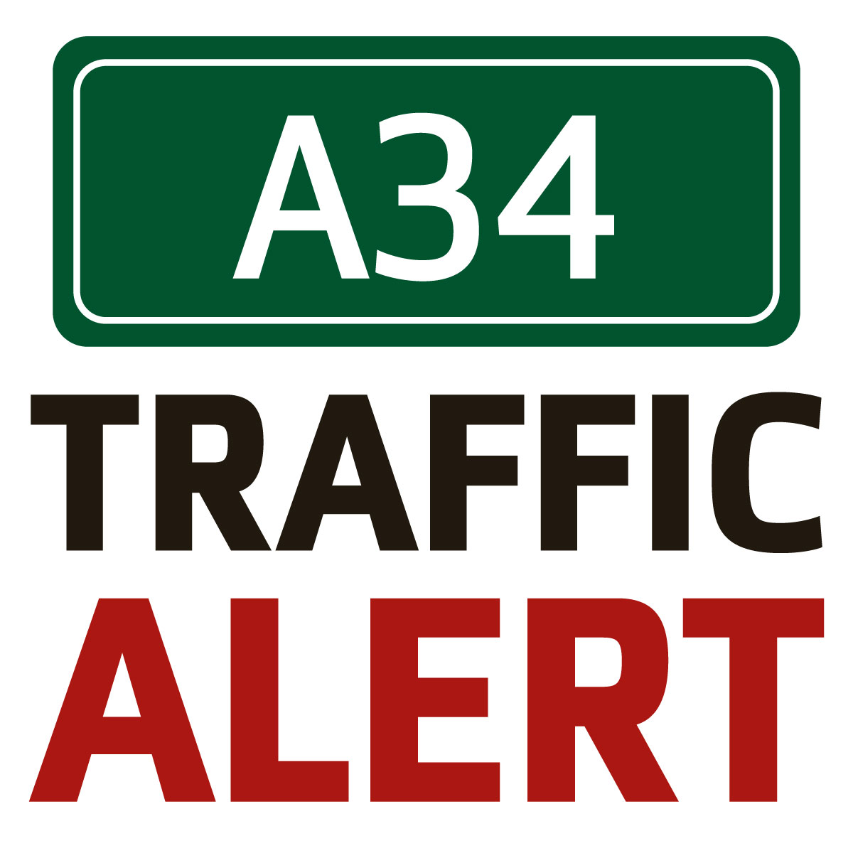 Delays on A34 due to broken down lorry