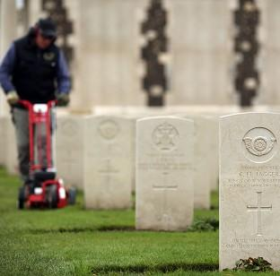 Bicester Advertiser: The Tyne Cot Cemetery and Memorial in Ypres, Belgium, as the Commonwealth War Graves Commission prepares for the centenary of the outbreak of the First World War