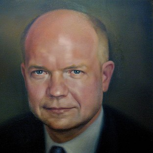 William Hague's portrait cost �4,000 to commission