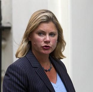 Bicester Advertiser: Justine Greening has highlighted the plight of Syrian civilians.