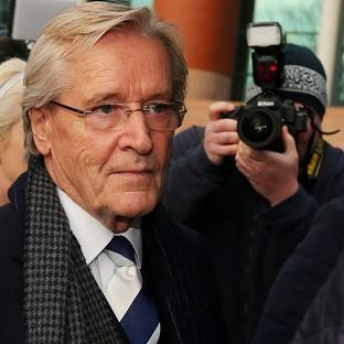 Bicester Advertiser: Coronation Street actor William Roache arrives at Preston Crown Court