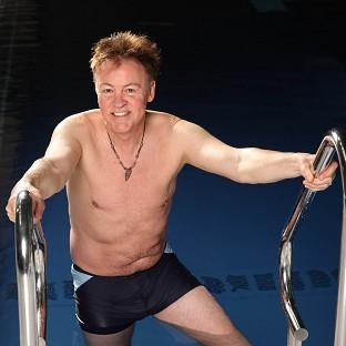 Paul Young has admitted to feeling concious about his body prior to his appearance on Splash!
