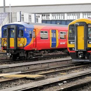 South West Trains services into Waterloo were hit by power supply problems and