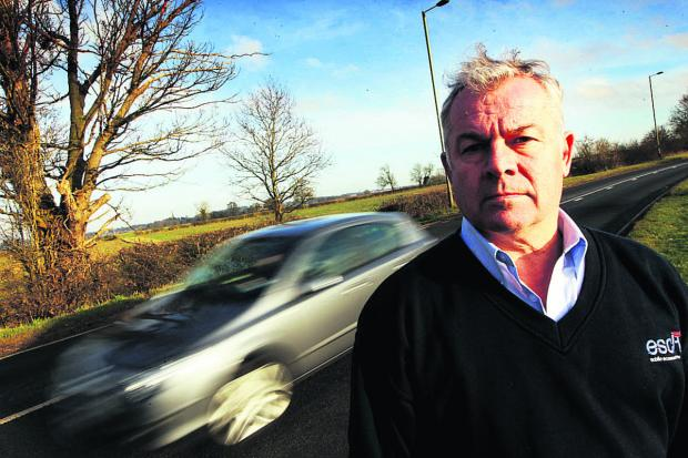 Road safety campaigner Steve Jefferies, who 18-year-old daughter Oilvia  was killed in 2011