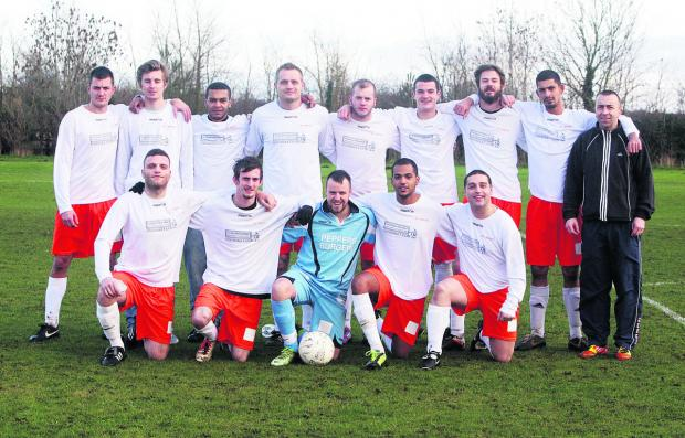 Bicester Advertiser: AFC Jericho beat the bad weather, and Northway, in Sunday's 4-1 home victory in the Hedley Toms/Michael Brown Trophy