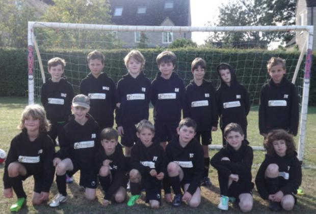 Charlbury Town Youth, who stand in mid-table in the Under 10 Blue League