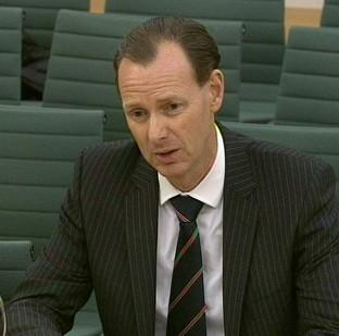 Bicester Advertiser: Lawrence Tomlinson gives evidence in front of the Treasury Select Committee
