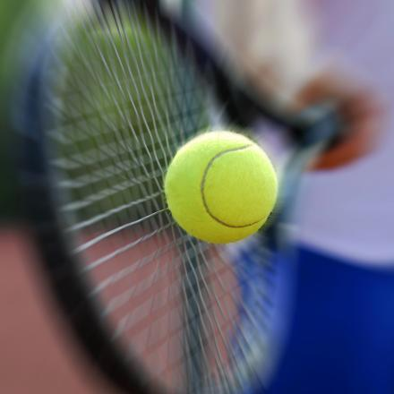 TENNIS: It's fun for all as free tennis hits the county