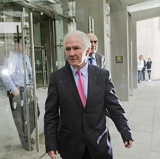 Bicester Advertiser: Former chairman Sean Fitzpatrick is due before court 19 of the Criminal Courts of Justice in Dublin for a trial that is expected to last six months