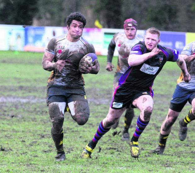 Seisoni Tupou scored two tries for Oxford Harlequins against Reading
