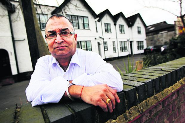 Abingdon Road guest house owner Narinder Bhella is bracing himself for more flooding. He said last month's floods wipe