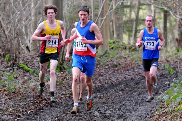 Bicester Advertiser: Matthieu Marshall ran Oxford City's fastest short leg