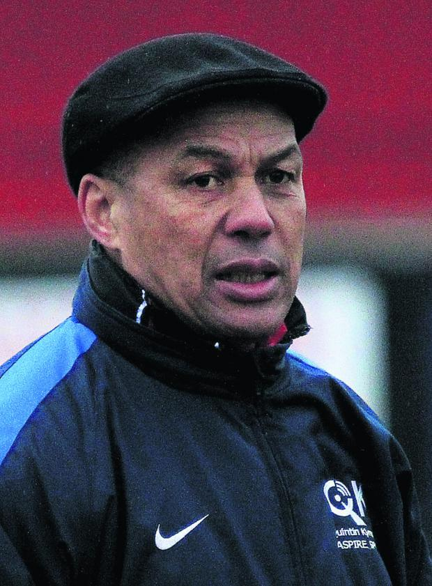 Bicester Advertiser: Edwin Stein wants a positive response after Tuesday's 8-0 defeat at Chesham United