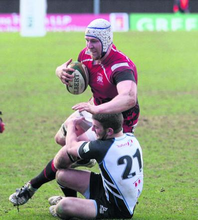 Ben West was praised by London Welsh coach Justin Burnell