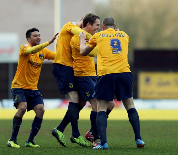 Bicester Advertiser: Oxford Utd 3, Mansfield Town 0 + match highlights video