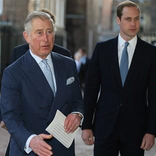 The Prince of Wales and the Duke of Cambridge attend the Illegal Wildlife Trade Conference