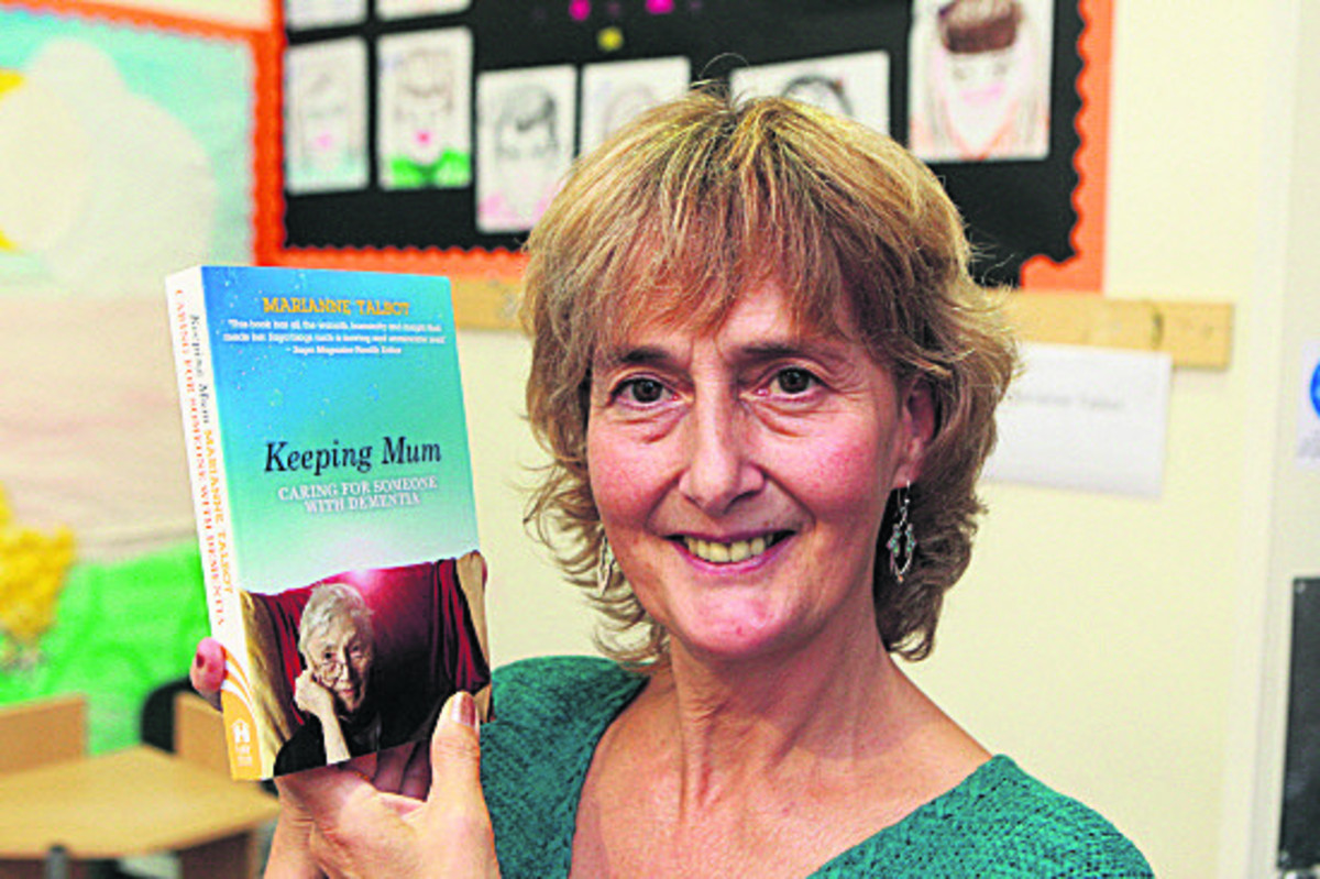 Marianne Talbot will speak about her book on her mother's dementia