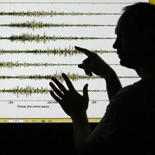 Seismologists have confirmed an earthquake struck