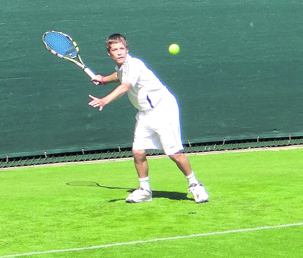 Oxfordshire's Harrison Ridge won a close final at Bisham Abbey