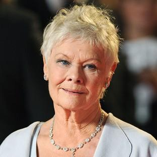 Bicester Advertiser: Dame Judi Dench suffers from macular degeneration, an age-related condition that leads to the gradual loss of vision
