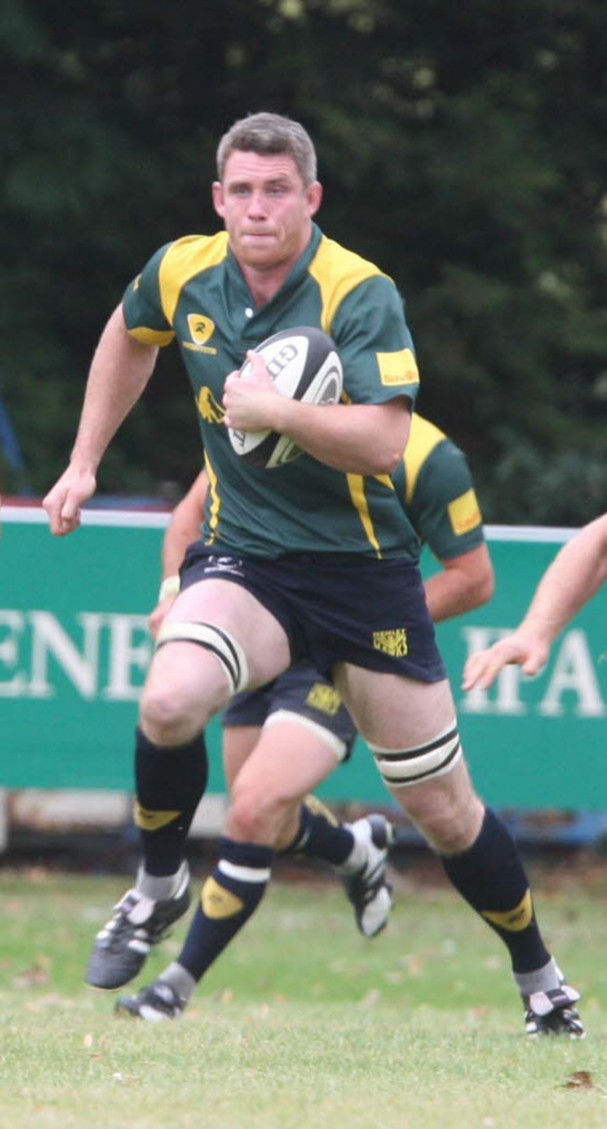 Matt Payne scored a try for Henley