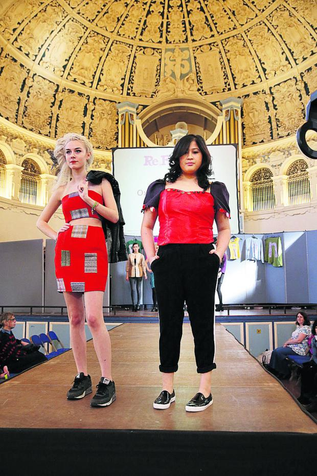 Bicester Advertiser: Recycled fashion show is not rubbish!