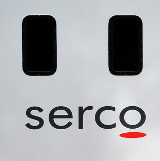Serco's shares rose significantly on the news