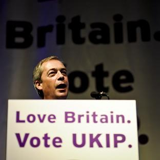 Bicester Advertiser: UKIP leader Nigel Farage during his speech at the party's spring conference in Torquay