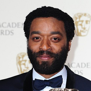Chiwetel Ejiofor is up for a best actor Oscar for 12 Years A Slave