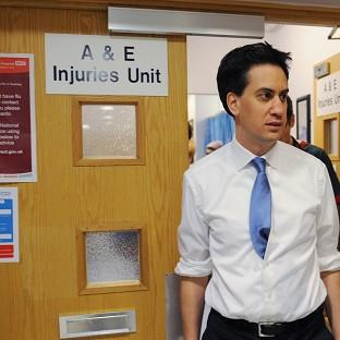 Ed Miliband said Labour's health plan would give NHS patients a greater say on their care