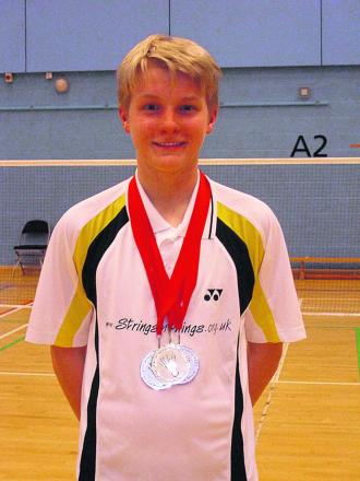 Alex Cook in the medals