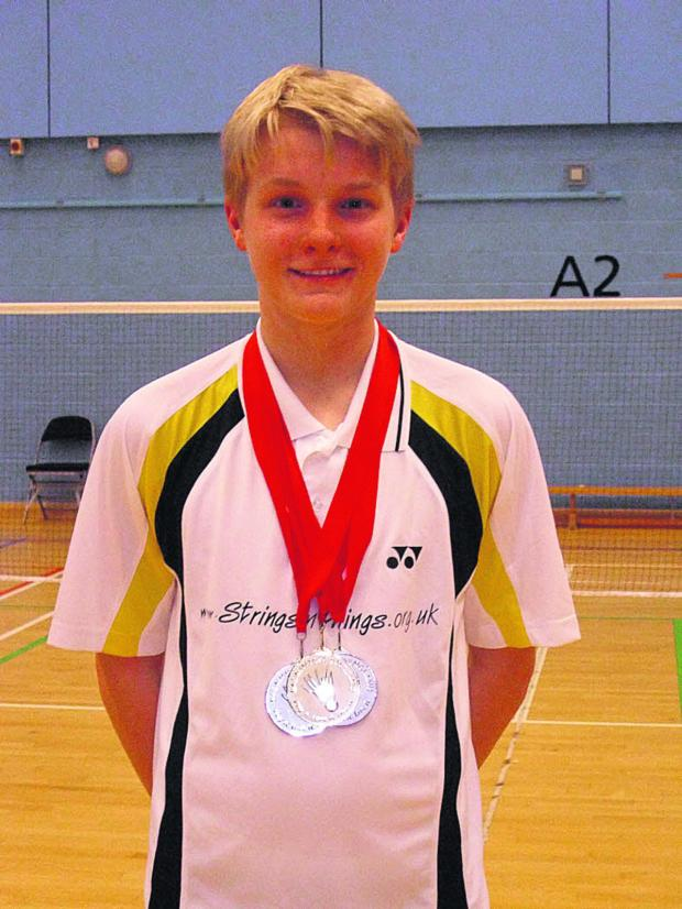 Bicester Advertiser: Alex Cook in the medals