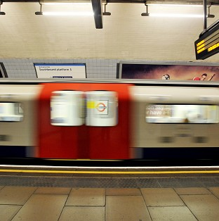 Investigators are looking into an incident on the Tube in which a woman was injured.