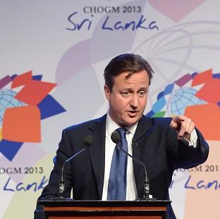 Prime Minister David Cameron during November's summi