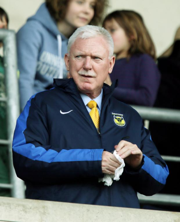 Bicester Advertiser: U's chairman Ian Lenagan won't be rushed into making a decision on the new manager