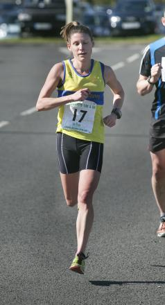 Diane Moore won the Carterton 10K