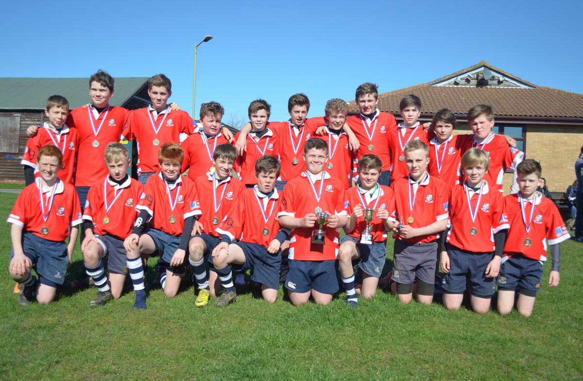 Banbury Under 13s with the Oxfordshire Cup