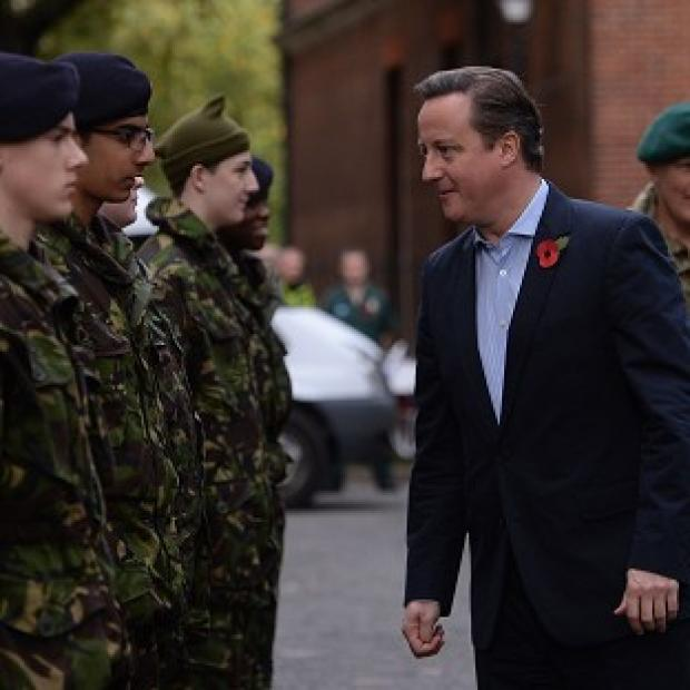 Bicester Advertiser: MPs have warned David Cameron against any further cutbacks to Britain's armed forces