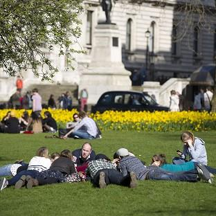 Britain will be warmer than mainland Spain and Ibiza next week as temperatures here reach 20C (68F), forecasters say.