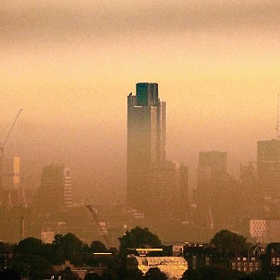 Experts are anticipating high or very high air pollution levels across much of England and Wales on Wednesday