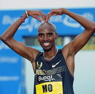 "Bicester Advertiser: Reflecting on his chances of winning the London Marathon, Mo Farah said: ""I have a good chance."""