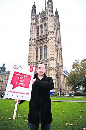 Gambling-addict-turned-campaigner Owen Baily