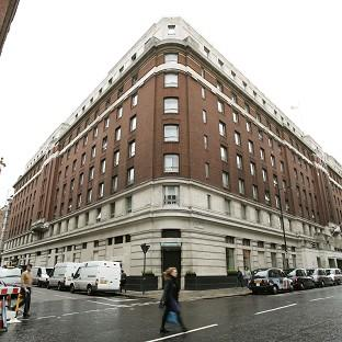 The Cumberland Hotel in central London, where three women were attacked with a hammer