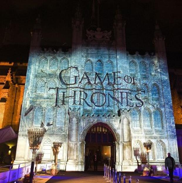Bicester Advertiser: London's Guildhall recently hosted the premiere of season four of Game of Thrones