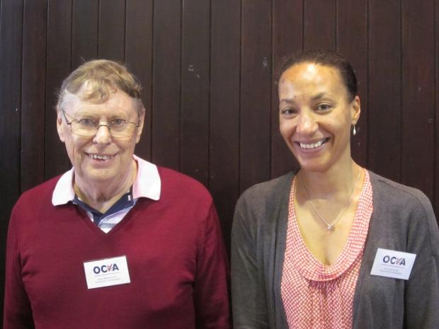 Abingdon Community Ambassadors, Dave Butterworth and Marigold Brown