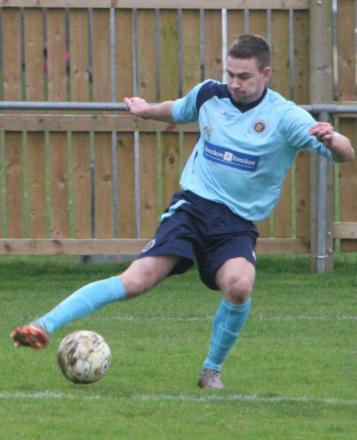 Ryan Brooks netted Ardley's first goal