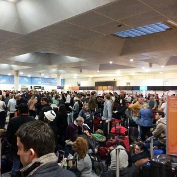 Bicester Advertiser: Passengers faced long delays at Gatwick Airport on Christmas Eve
